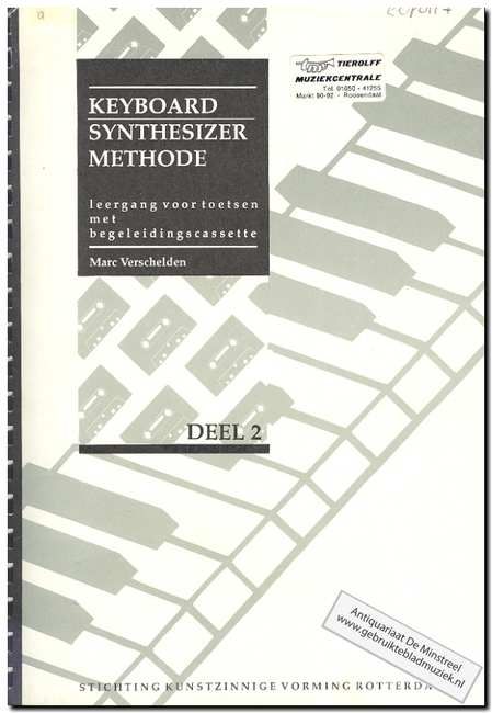 Verschelden, Marc - Keyboard synthesizer methode deel 2