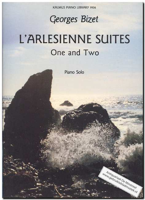BIZET, GEORGES - L'Arlesienne suites One and Two Piano solo