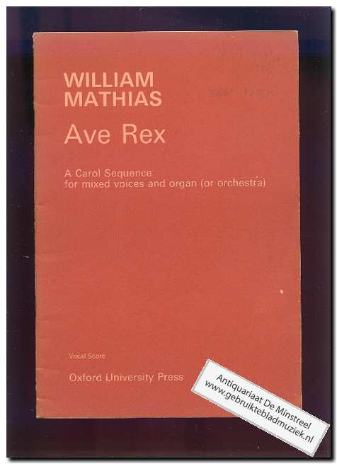 MATTHIAS, W. - Ave Rex (Text: Latin)