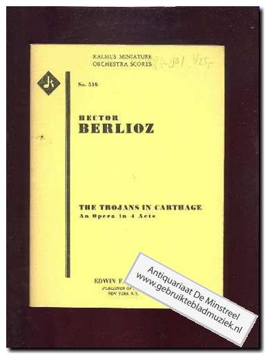 BERLIOZ, H. - The Trojans in Carthage