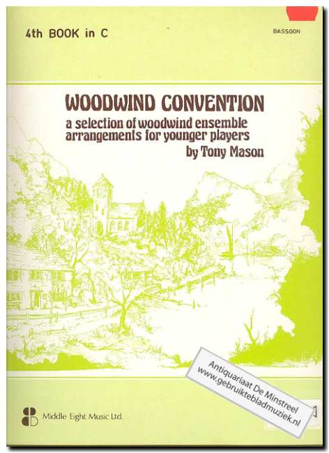 MASON, TONY - Woodwind convention 4th book in C