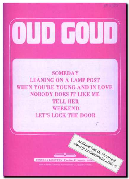 DIV. - Oud goud (someday, Leaning on a lamp-post, When you're young and in love, ... (7))