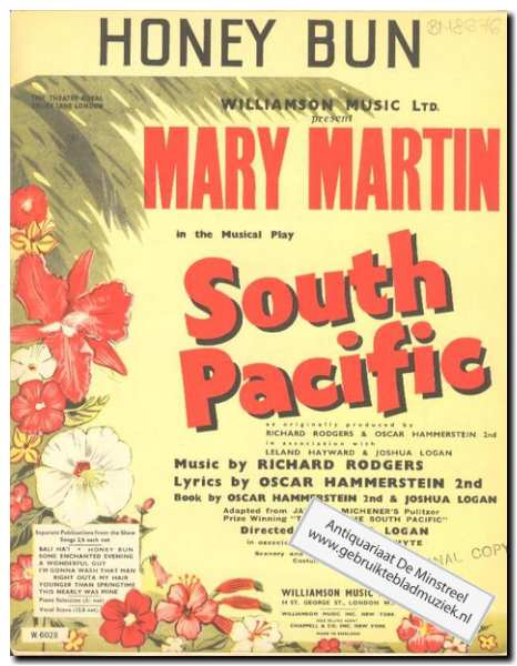 MARTIN, M. - South Pacific - Honey bun