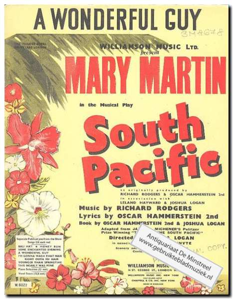 MARTIN, M. - South Pacific - A wonderful guy
