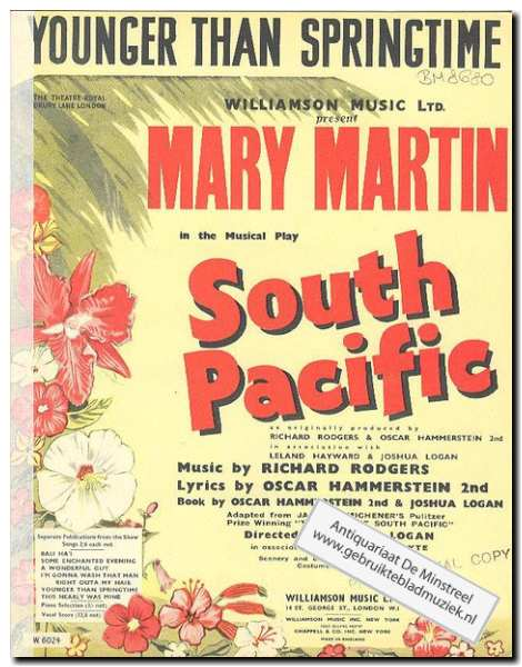 MARTIN, M. - South Pacific - Younger than springtime